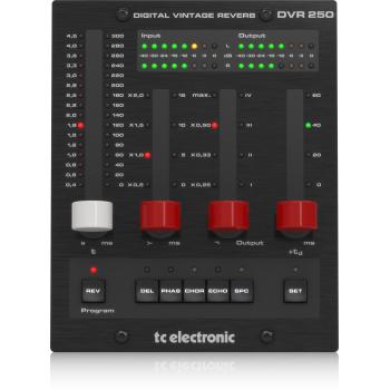 TC Electronic DVR250-DT Plug-in de Reverb con Controlador Dedicado