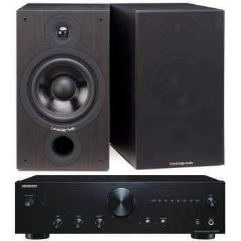 ONKYO A-9010 B+Cambridge Audio SX60 BK Conjunto Audio