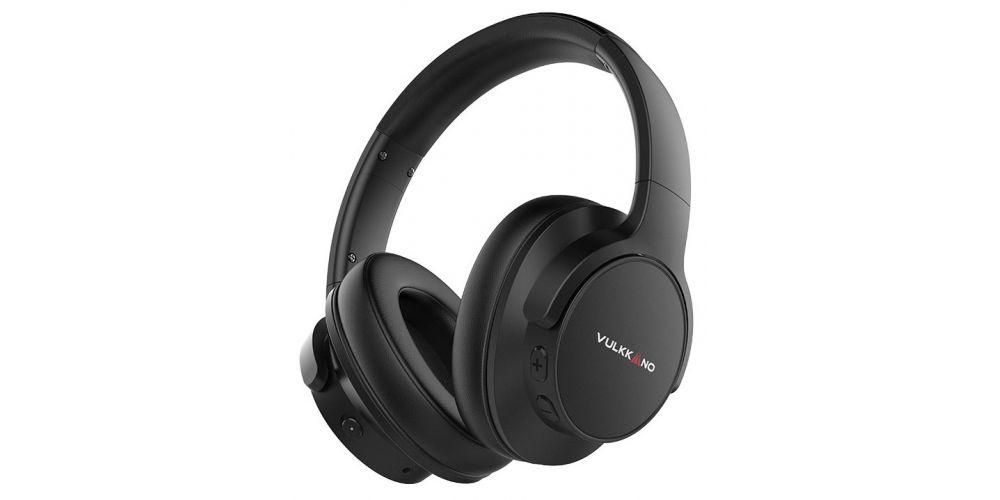 vulkkano AIR ANC Negro auriculares bluetooth cancelacion ruido bk black