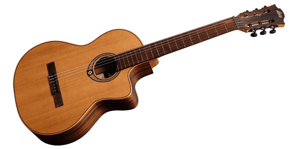 lag oc170ce guitarra clásica electrificada