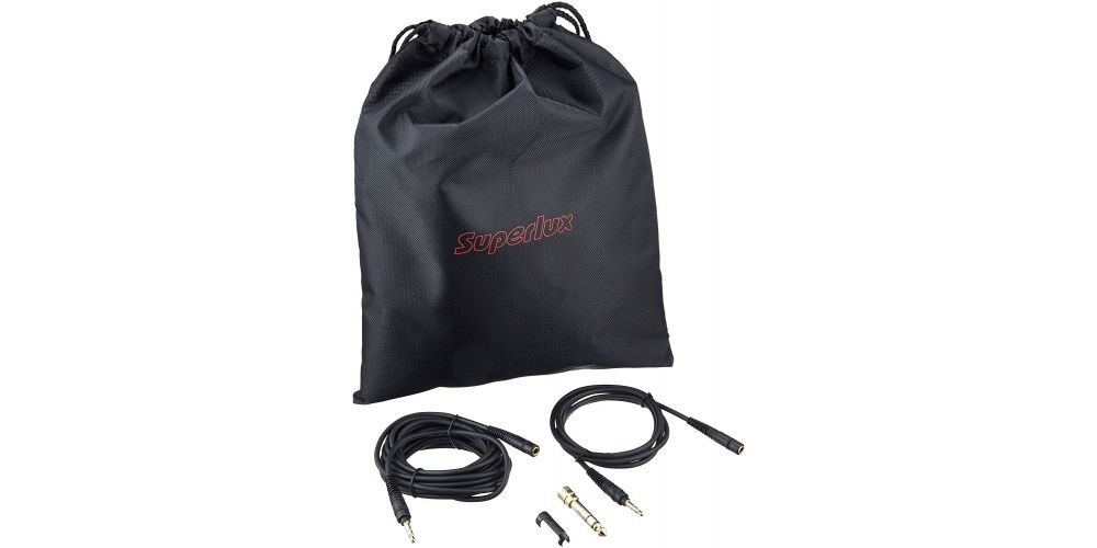 superlux hd 681 evo white accesorios