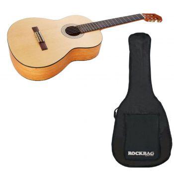 YAMAHA C-40-Mll Guitarra Clasica Acabado Mate + Funda Rockbag