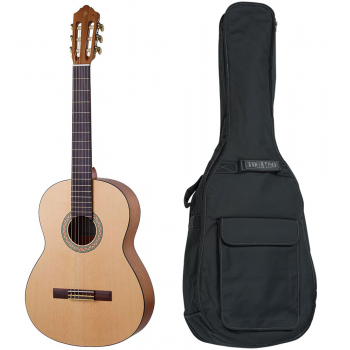YAMAHA C-40-Mll Guitarra Clasica Acabado Mate + Funda Audibax Easy Acoustic