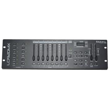 Ibiza Light LC-192DMX Mesa DMX de 192 Canales