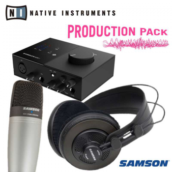 Native Instruments Komplete Audio 1 Pack con Micro y Auriculares