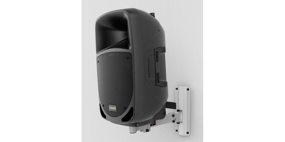 audibax neo 20 white soporte pared altavoz