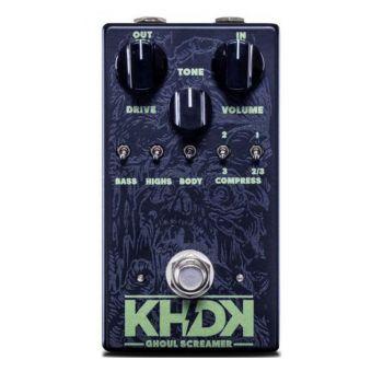 KHDK Ghoul Screamer Pedal Overdrive Para Guitarra