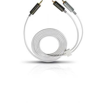 Oehlbach MP3 3,5 Plug To 2 Cinch 2m Blanco Cable Minijack