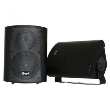 SKYTEC 100019 Conjunto de Altavoces Stereo Negro 100W