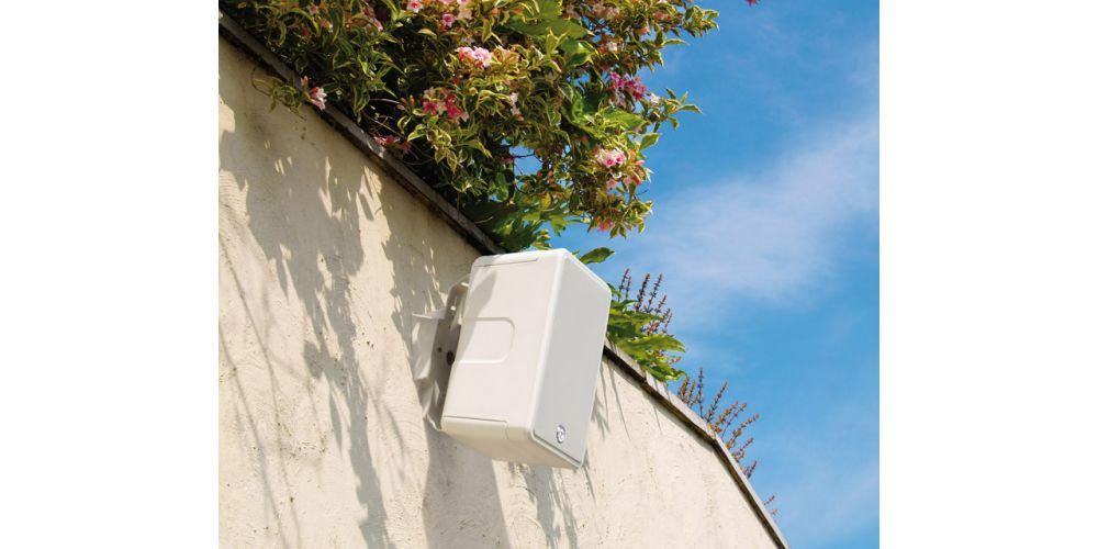 monitor audio cl80 white altavoz intemperie soporte