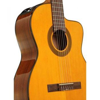 TAKAMINE GC1CE-NAT Guitarra Clasica Electrificada Cutaway