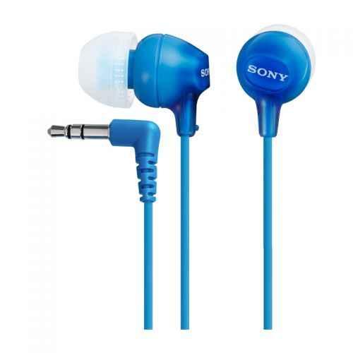 sony mdrex15 auricular tapon azul