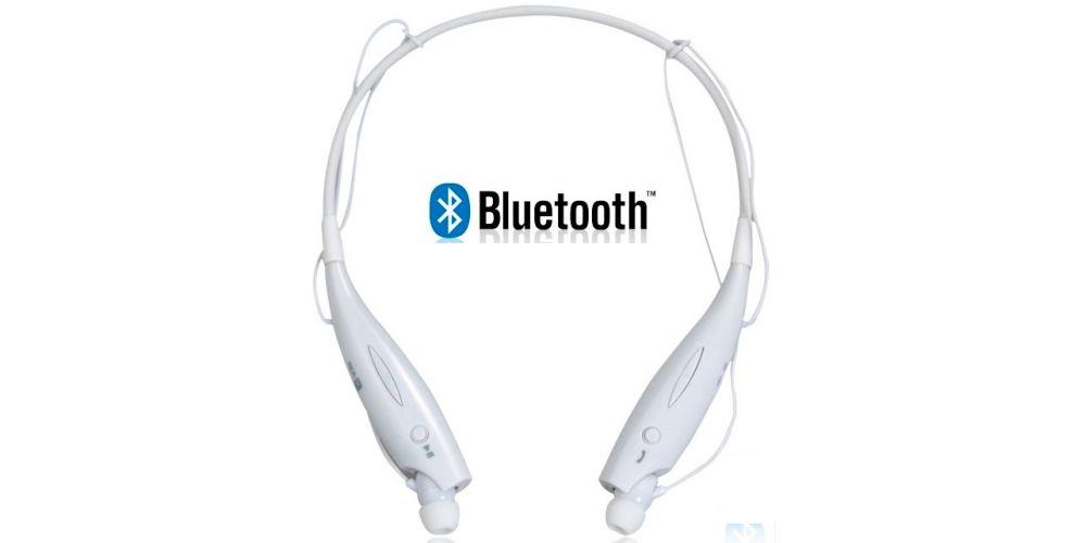 Auriculares EAB5314 Bluetooth Diadema Deporte BLANCO