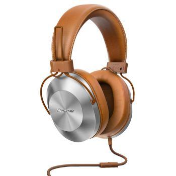 PIONEER SEMS5T-T Auriculares Hi-Res con micro Marron