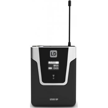 LD SYTEMS U505BP Emisor de Petaca 584 - 608 MHz