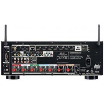 DENON AVR-X1400+Bose AM-6V WH