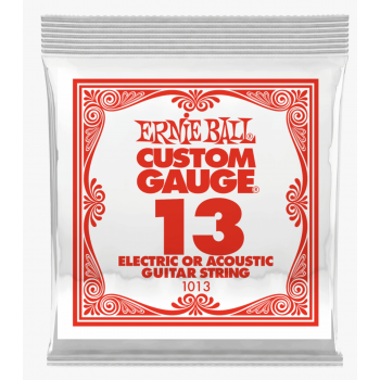 Ernie Ball 1013 Slinky Cuerda Para Guitarra Electrica Plana 013