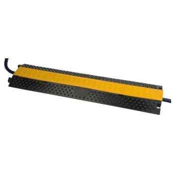 Showtec Cable Bridge 2 Protector de Cables para Suelo 71102