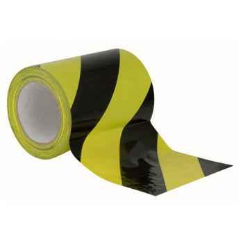 Showtec Floor-Marking tape 150 mm Cinta Amarilla y Negra Para Suelo 90622