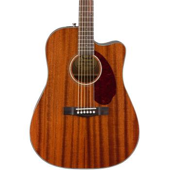 Fender CD-140SCE Mahogany Natural + Estuche Guitarra Acústica