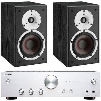 ONKYO A-9010 Silver+Dali Spektor 1 Conjunto Audio