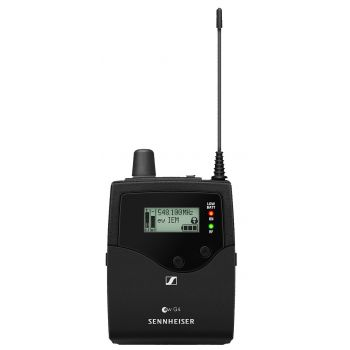 Sennheiser EK IEM G4 Banda G Petaca Receptora + Auricular IE4