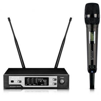 Audibax Sidney U508 Micrófono Inalámbrico Mano Profesional UHF