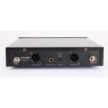 Audibax Sidney U310 Doble Micro mano UHF con Frecuencia seleccionable ( REACONDICIONADO )