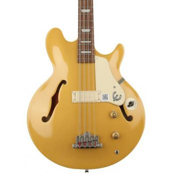 Epiphone Jack Casady Bass Metallic Gold Bajo Electrico