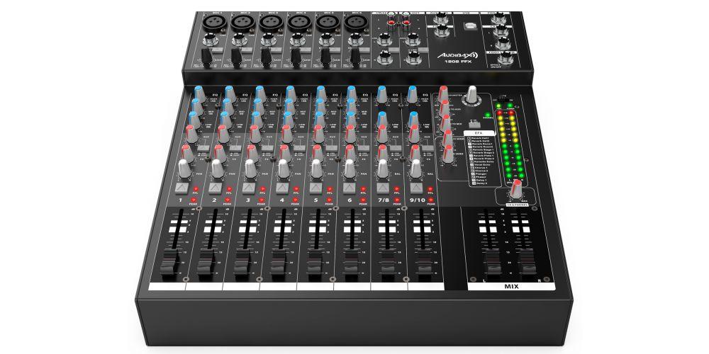 audibax 1202 ffx  mesa mezclas conexiones