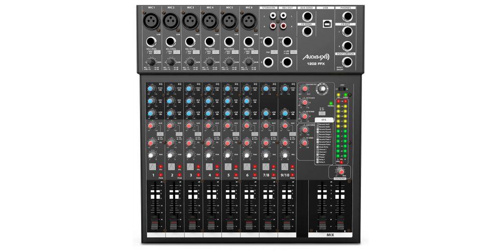 audibax 1202 ffx  mesa mezclas