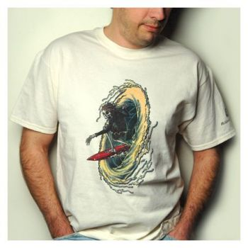 Planet Waves T-Shirt Al McWhite Surf Talla XL