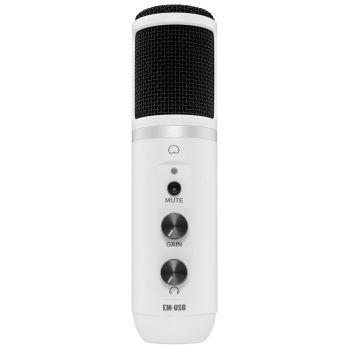 Mackie EM-USB White Micrófono de Condensador USB