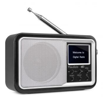Audizio Anzio Radio Portátil DAB+ BT FM con Batería Blanca 102208