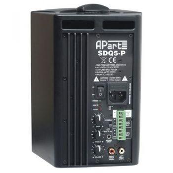 APART SDQ5P Black Altavoces activos preparados 100 v Pareja