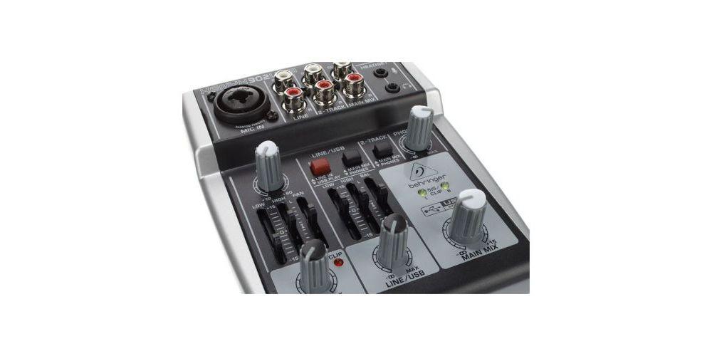 BEHRINGER 302-USB XENYX Mezclador para Directo Behringer XENYX-302 Un