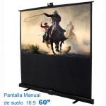 "Pantalla Proyección Manual de Suelo LUMENE PARADISE 130C , 60""  16:9"