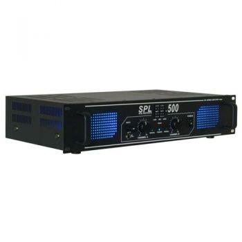 Vonyx SPL500EQ Etapa de Potencia 2 x 250W 178791 By-Skytec