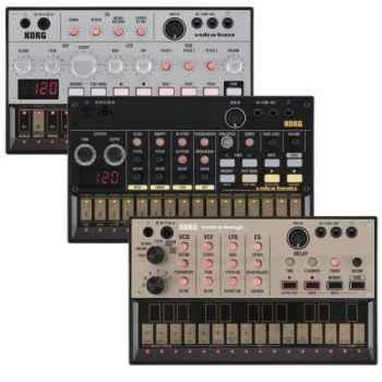 Korg volca bass+volca keys+volca beats