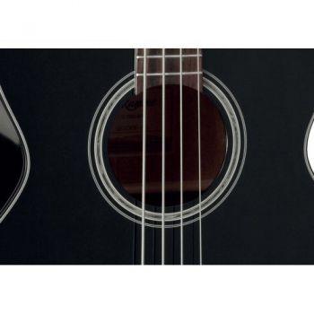 TAKAMINE GB30CE-BLK Bajo Electro-Acustico Cutaway, NEGRO