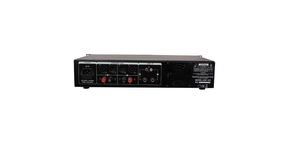IBIZA SOUND AMP300USB BT ETAPA POTENCIA CONEXIONES