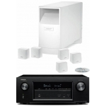 DENON AVR-X2200-AM6 Blanco Conjunto Home Cinema