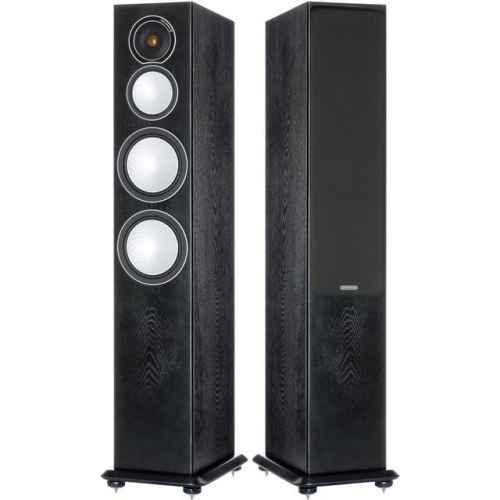 monitor audio silver 8 black oak pareja