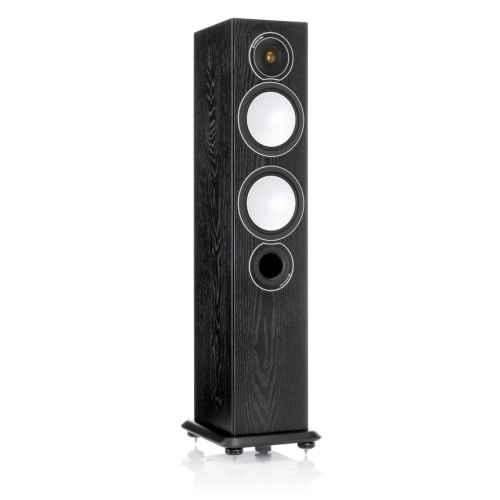 monitor audio silver 8 black oak unidad