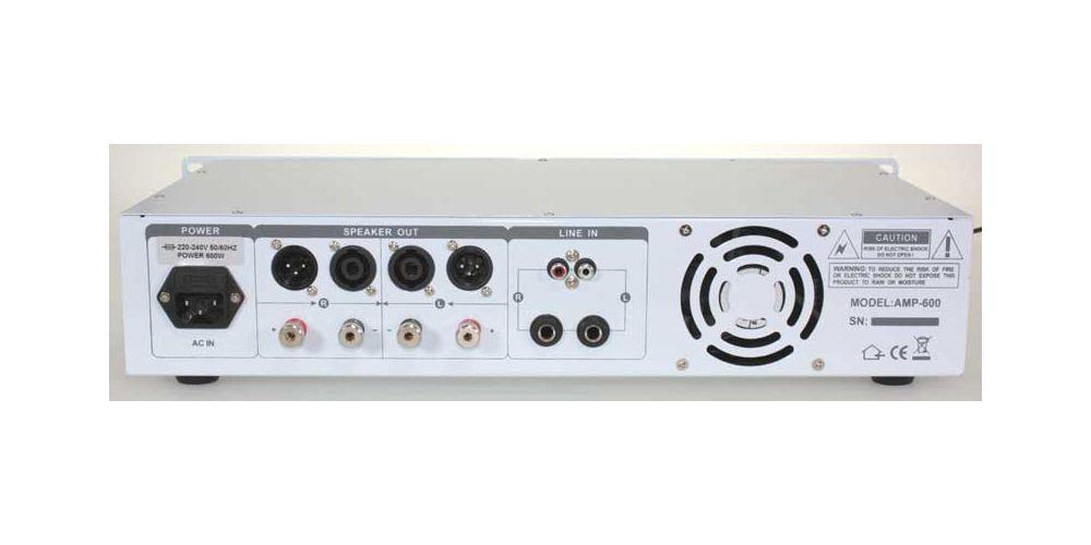 ibiza sound amp 600 white 2