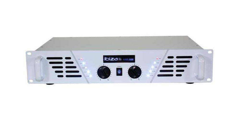 Ibiza Sound Amp 600 White