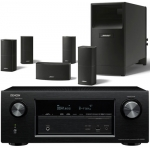 DENON AVR-X3200 + Bose AM-10-V- Black
