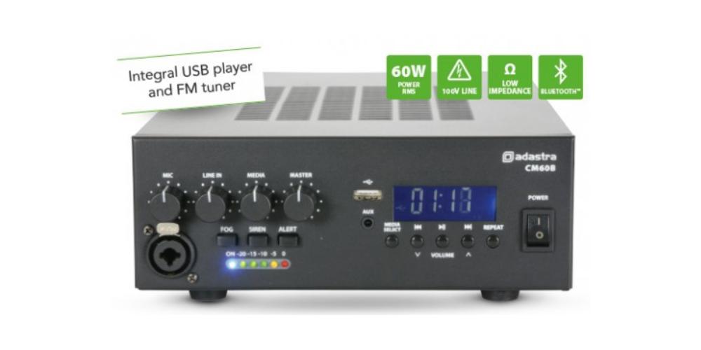 comprar amplificador 100 voltios cm60b