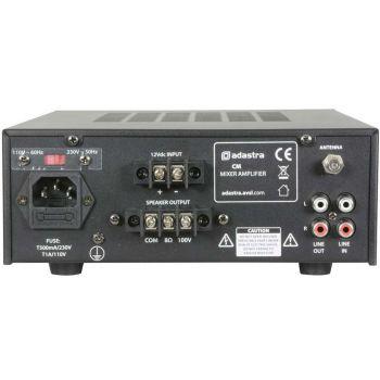 ADASTRA CM60B Amplificador Línea 100V ( REACONDICIONADO )