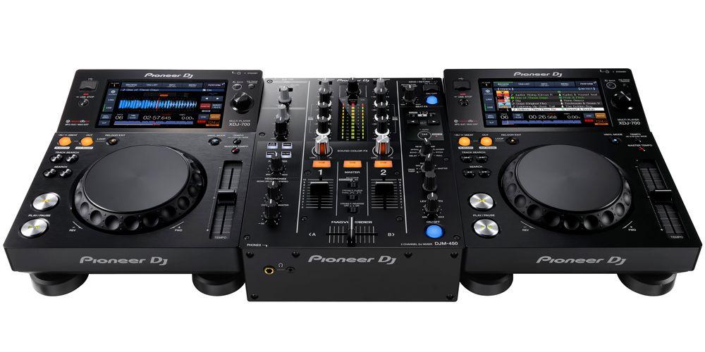 DJM450 XDJ750SET